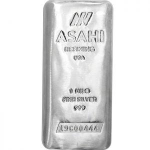 ASAHI Silver Bar 1 Kilo