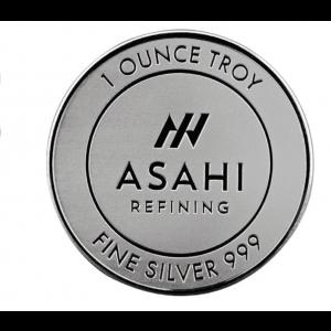 ASAHI Silver Coin 1oz