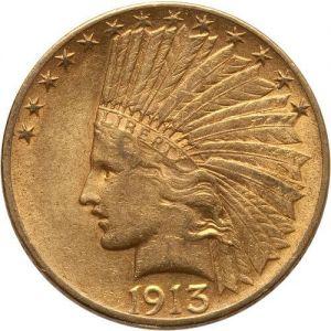 $10 Indian .4838oz
