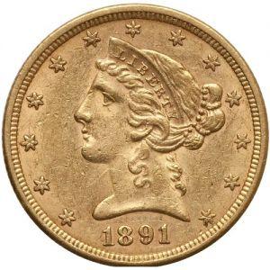 $5 Liberty AU .2419oz