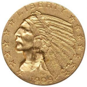 $5 Indian .2419oz