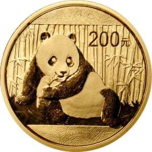 China Panda 1/2oz