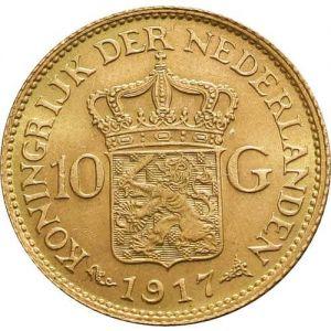 Dutch 10 Guilder .1947oz