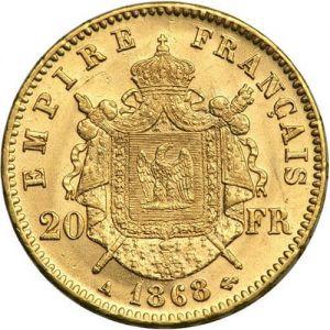 French 20 Franc Napoleon .1867oz