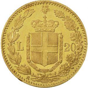 Italy 20 lira .1867oz