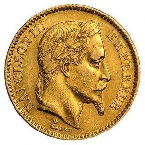 French 20 Franc .1867oz