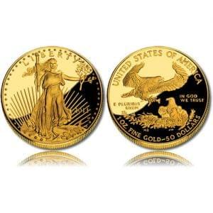 Proof Gold Eagle 1 oz