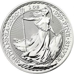 Silver Brittania 1oz